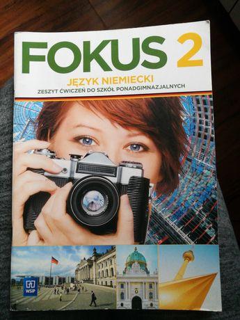 Zeszyt ćwiczeń język niemiecki FOKUS 2 rozszerzenie klasa 2