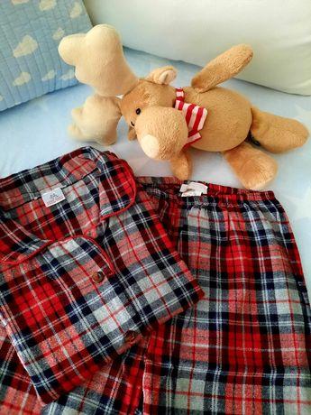Pijama quente, da Zara home, para menino - 4/5 anos