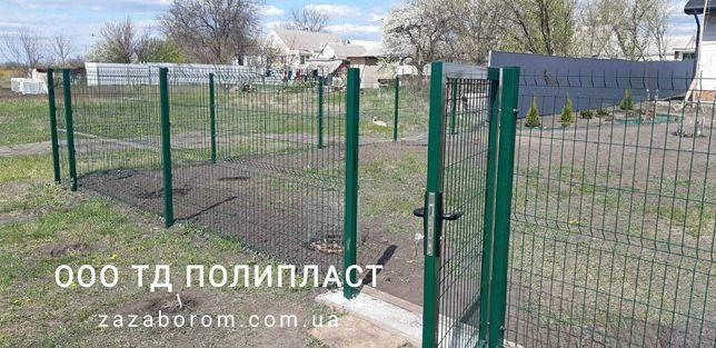 Забор из сетки сварной/3d/сетка для забора панельная