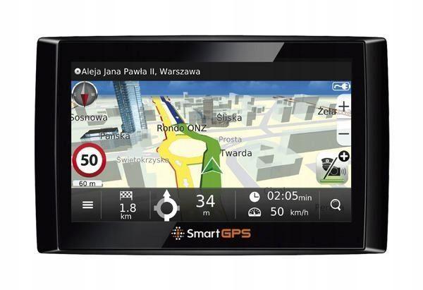 SMARTGPS SG736 nawigacja uchwyt zasilacz MapaMAP Polska
