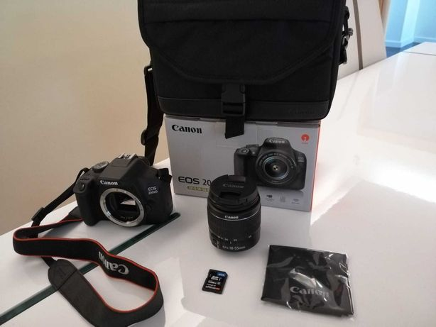 Canon EOS 2000d kit (ef-s 18-55mm iii)