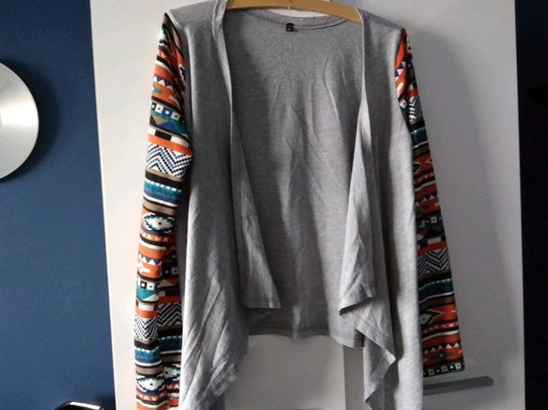 Sweterek, narzutka bez zapinania
