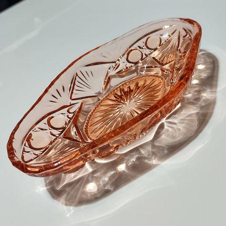 żardiniera/półmisek Riihimaki Glass. Nr. katalogowy 7284.
