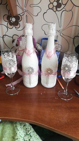 Бутылки на сводьбу