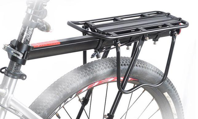 Багажник для велосипеда, велобагажник вело до 50кг консольный задний