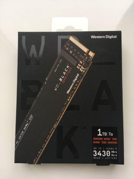 SSD WD_Black SN750 1TB m.2 NVMe