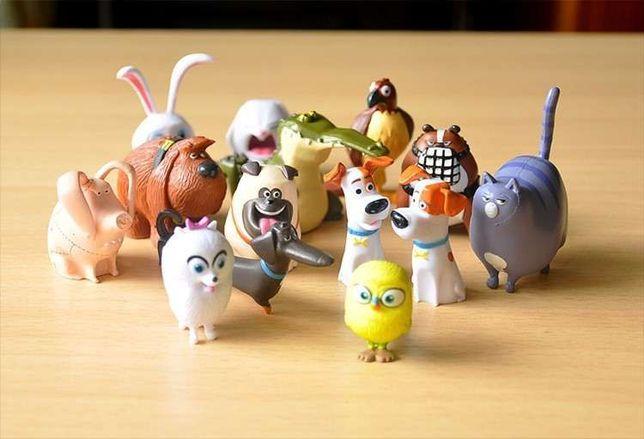 Тайная жизнь домашних животных игрушки 14 шт. домашние животные
