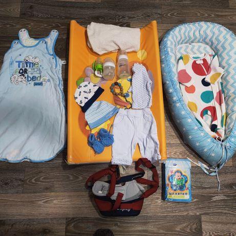 Большой набор необходимых вещей для ребенка
