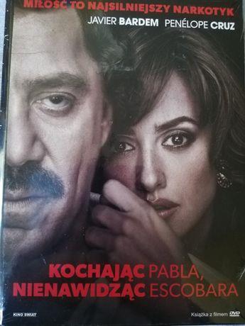 Kochając Pabla, nienawidząc Escobara DVD wersja książka-film w folii