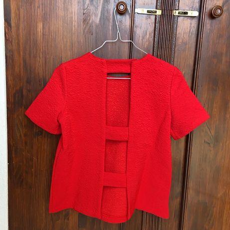 Camisola costas abertas Zara