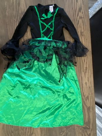 Карнавальное праздничное платье чародейки