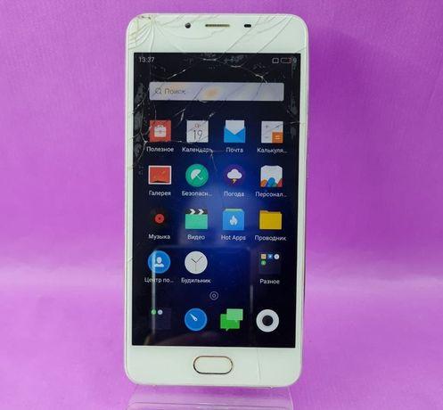 Телефон MEIZU U20 16GB работает ( разбит сенсор)