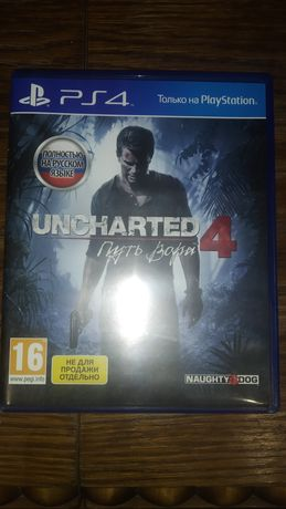 Uncharted 4 Play Station 4