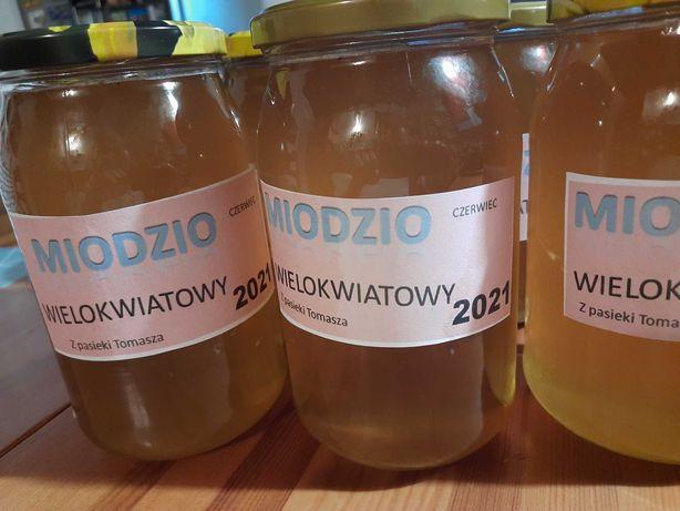 Miód naturalny rzepakowy wielokwiatowy 2021