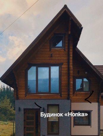 Котедж у Ворохті «Honka», будинок«Гуцульська хата»