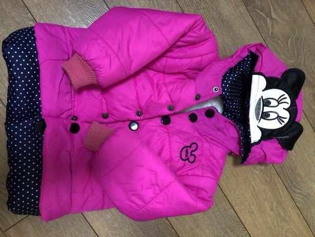 Курточка на девочку 1,5 года, демисезон
