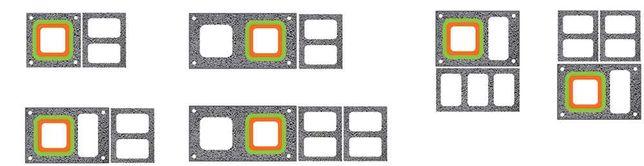 Вентиляційні/димохідні блоки