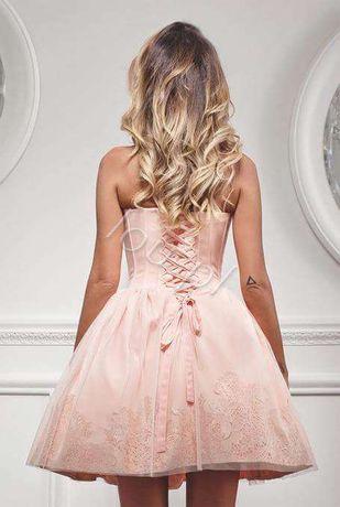 Sukienka Lou różowa M