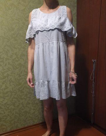 Хлопковое платье, новое.