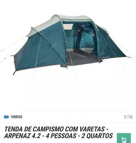 VENDO tenda campismo 4.2