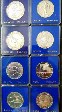 Osiem monet Olimpiady .
