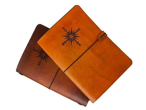 Skórzana okładka A5 + notes handmade Travelers Journal