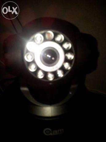 Câmara IP wireless wifi webcam visão nocturna internet pc
