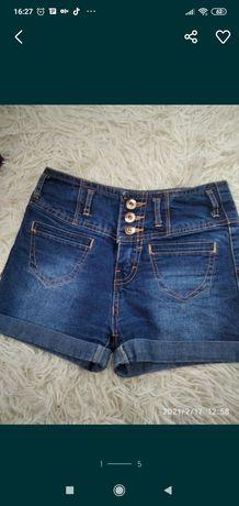 Шорты джинсовые+подарок
