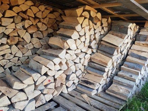 Drewno kominkowe - opalowe , przeschnięte , tanio
