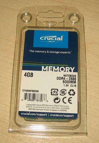 Memória Ram 4GB DDR4 Embalagem selada