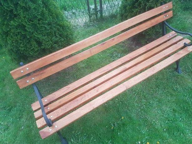 Meble ogrodowe żeliwne ławka ogrodowa stół