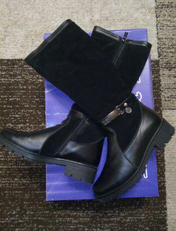 Ботинки женские сапоги