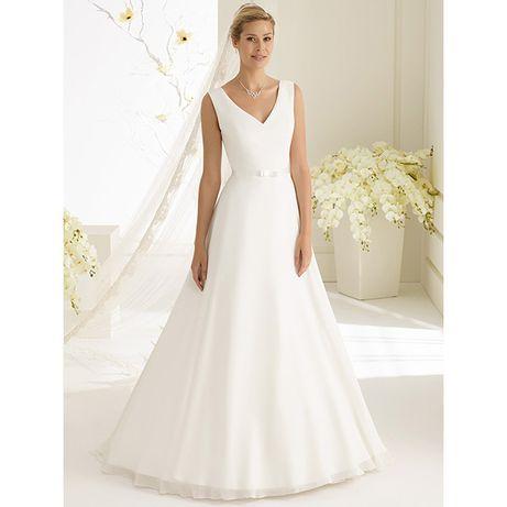 Prosta suknia ślubna rozmiar 42