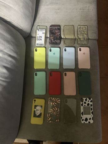 Capas iphone Xr- varias