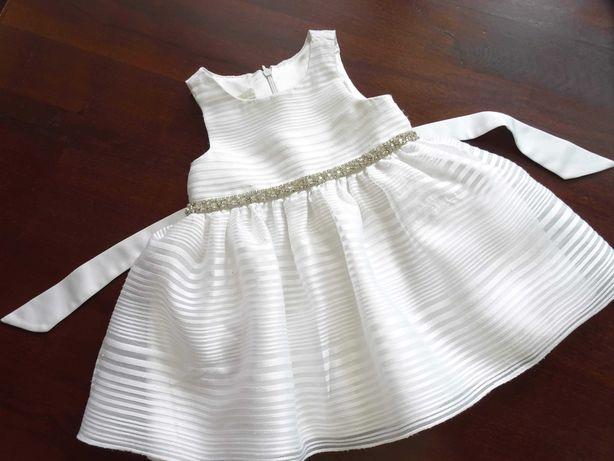 American Princess sukienka wizytowa sukieneczka chrzest wesele 80/86