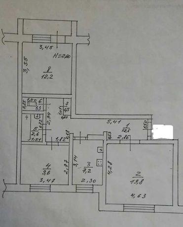 ЛФ-3 Трехкомнатная квартира на Черемушках в высотке. Дом-спецпроект.