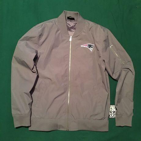 Куртка Бомбер Американка New Era New England Patriots Jacket Оригинал