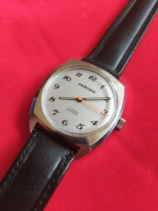 Zegarek Prätina 17 rubis Gdynia - image 1
