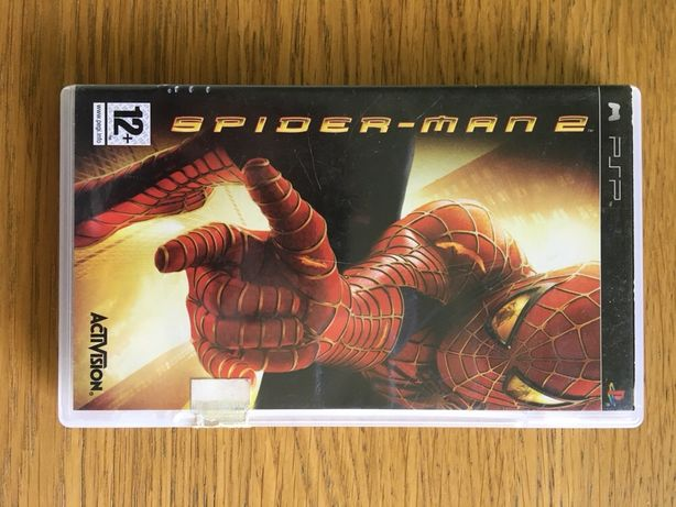 Jogo PSP PlayStation Portable Spider-Man
