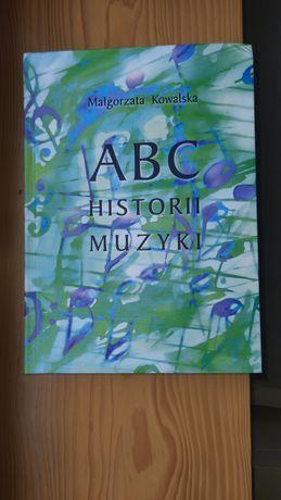 """podręcznik do  historii muzyki """"ABC historii muzyki"""""""