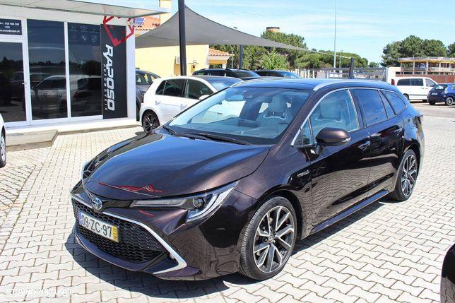 Toyota Corolla Touring Sports 2.0 Hybrid Luxury Brown