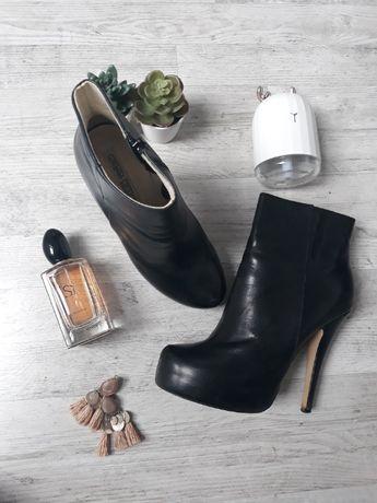 Skórzane buty Buffalo London