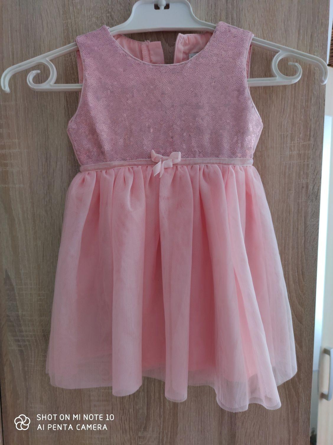 Sukienka dla dziewczynki Max&Mia 92