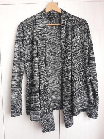 Szary sweterek - blezer Amisu, r. S