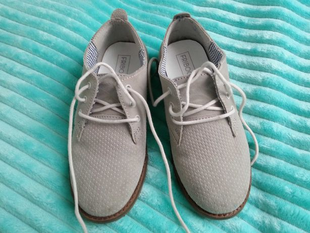 Buty chłopięce FRIBOO rozmiar 31, jasno szare
