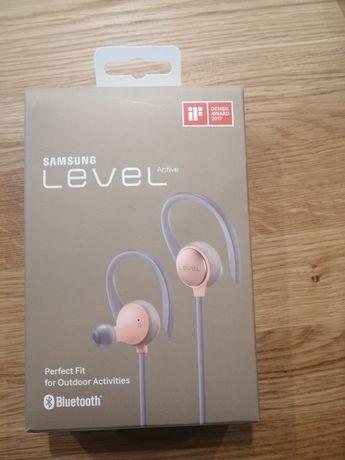 Słuchawki Samsung level Active różowe bluetooth - NOWE
