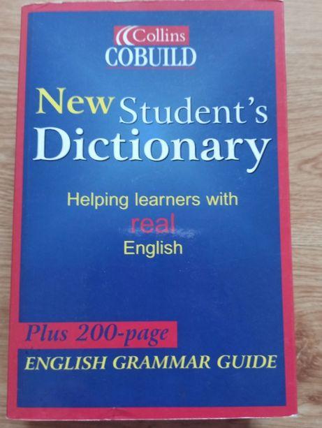 New Student's Dictionary słownik ang-ang + gramatyka