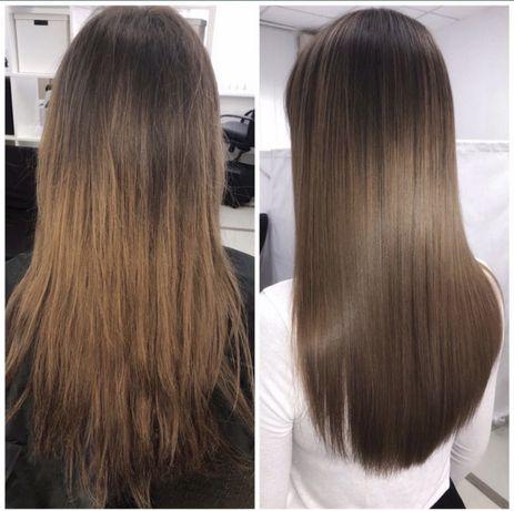 Кератиновое выпрямление/ботокс для волос