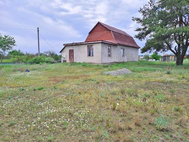Без комиссии дом под отделку в с. Лебедевка возле Киевского моря