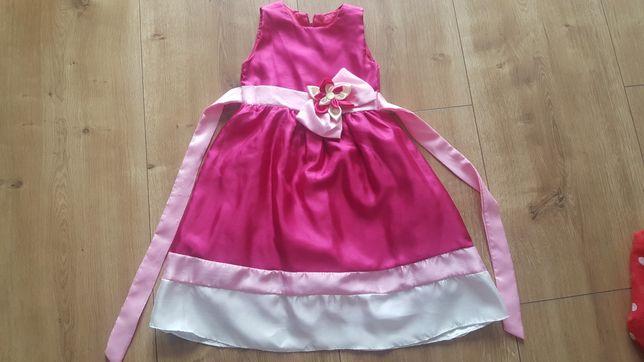 Elegancka dziewczęca sukienka